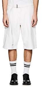 Ami Alexandre Mattiussi Men's Denim Belted Shorts - White