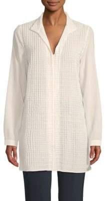 Akris Punto Textured Wool Shirt