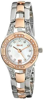 Relic Women's Charlotte Quartz Two-Tone Stainless Steel Dress Watch