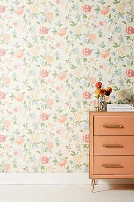 Anthropologie Candid Floral Wallpaper