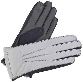 Southcombe Gloves Alice. Women's Tricolour Lined Leather Gloves