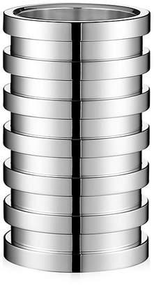 Puiforcat Ruban Silver Vase