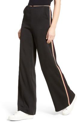 Women's Line & Dot Isabel High Waist Wide Leg Pants $99 thestylecure.com