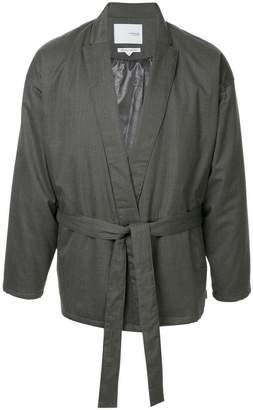 Yoshio Kubo Yoshiokubo belted jacket