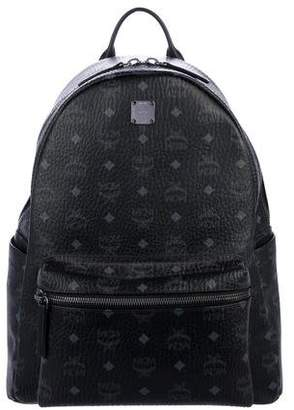 MCM Visetos Stark Medium Backpack