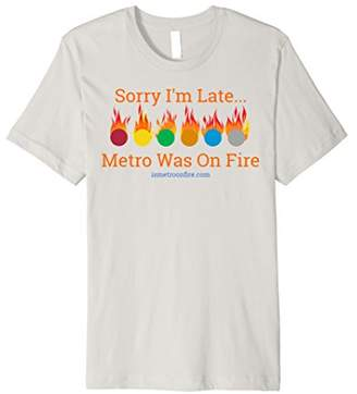 Is DC Metro On Fire T-Shirt