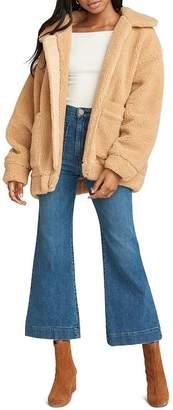 Show Me Your Mumu Cordelia Sherpa Jacket