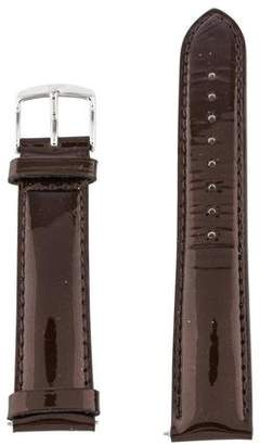 Michele 18mm Patent Leather Strap