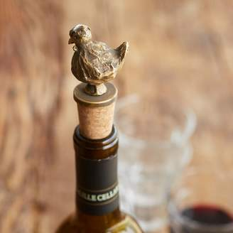 Sur La Table Jacques Pepin Chicken Bottle Stopper
