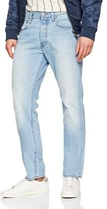 G Star G-STAR Men's Attacc Straight Straight Leg Jeans, Blue (Light Aged 5689-424), 33W x 34L