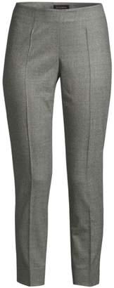 Piazza Sempione Emanuela Tropical Wool Cropped Pants