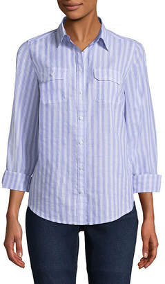 ST. JOHN'S BAY Long Sleeve Classic Shirt - Tall