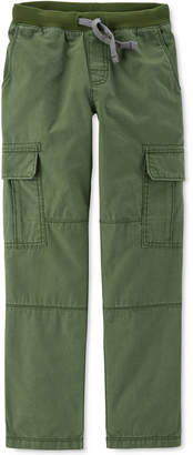 Carter's Little & Big Boys Reinforced-Knee Cargo Pants