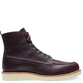 "Wolverine Men's Louis Made in USA 6"" Moc Toe Wedge Winter Boot"