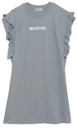 Milkfed. (ミルクフェド) - ミルクフェド RUFFLE DRESS