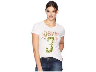 U.S. Polo Assn. Camo Graphic Tee Women's T Shirt