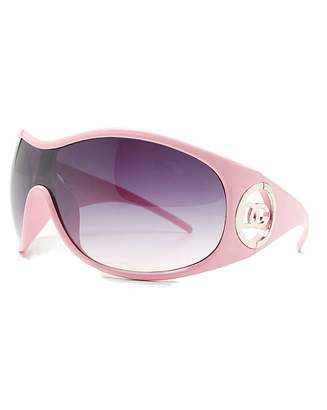 VivaLaDiva DG Eyewear Pink Frame Sunglasses