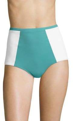 Flagpole Stephanie Colorblock Bikini Bottom