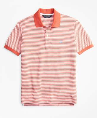 Brooks Brothers Slim Fit Vintage Stripe Polo Shirt