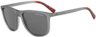 Armani Exchange Men's Urban Attitude 56mm Square Sunglasses
