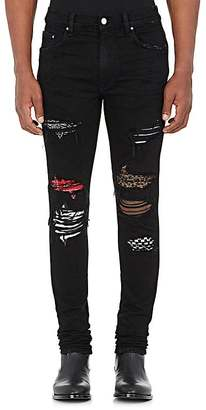 AMIRI Men's Art Patch Slim Jeans $1,350 thestylecure.com