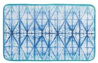 Creative Bath Blue Tones Shibori Rug