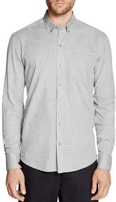 WRK Reworked & Dotted Regular Fit Button-Down Shirt