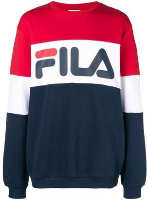 Fila logo crewneck sweatshirt