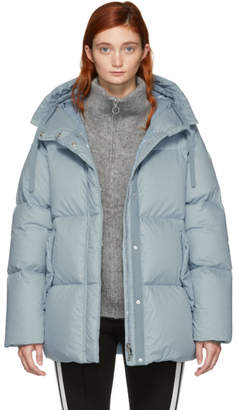 Moncler Blue Down Nerium Jacket