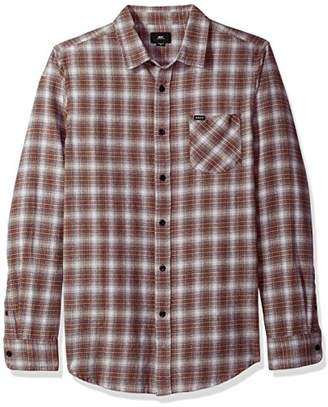 Obey Men's Langston Long Sleeve Woven Shirt