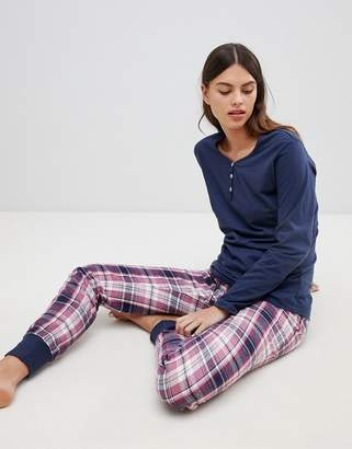 Esprit Check Pajama Set