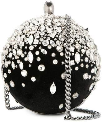 Oscar de la Renta embellished Billiard bag