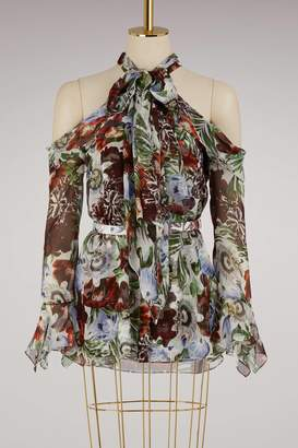 Erdem Uriel sleeveless blouse