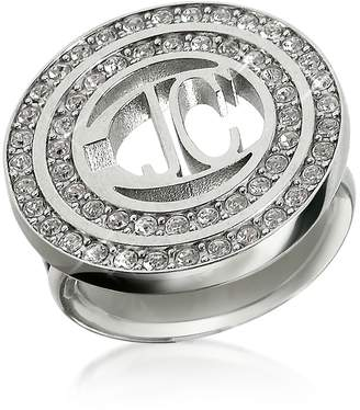 Just Cavalli Rolly - Crystal Logo Ring