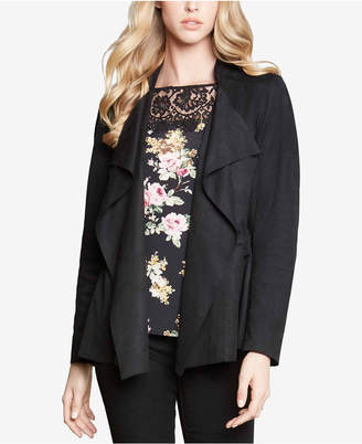 Karen Kane Draped Open-Front Jacket