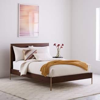 west elm Rhyan Bed - Walnut