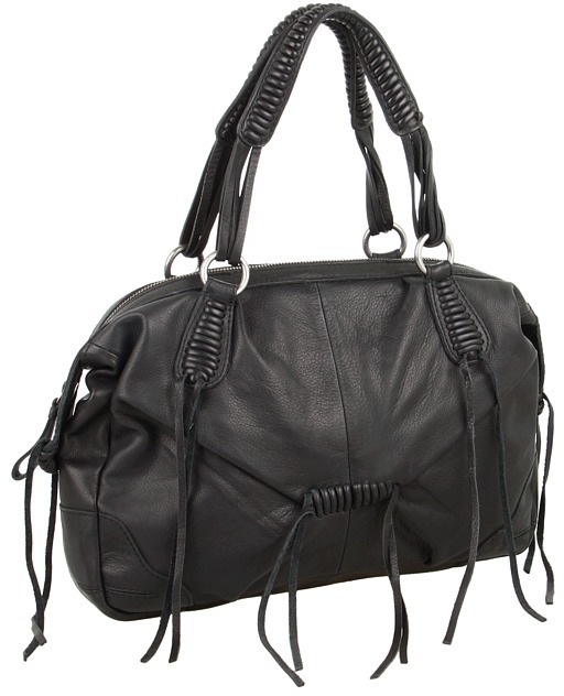 Lucky Brand Jordana Satchel (Black) - Bags and Luggage