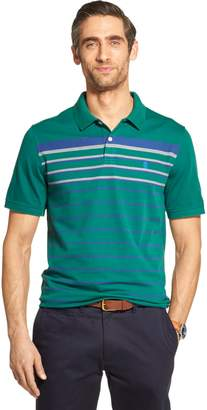 ad0cf85f9e Izod Sportswear Men's Sportswear Breeze Cool FX Striped Classic-Fit  Performance Polo