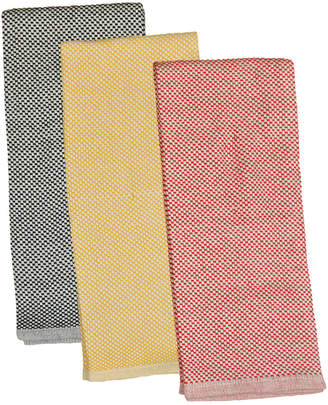 Design Imports Set Of 3 Bbq Check Heavyweight Dish Towels