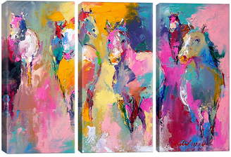 iCanvas Wild by Richard Wallich Giclee Print Canvas Triptych
