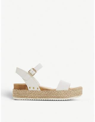 Steve Madden Chiara leather flatform sandals