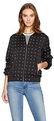 Calvin Klein Women's Bomber Jacket with Heat Set