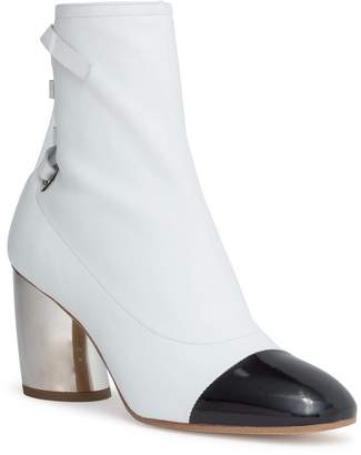 Proenza Schouler White leather 70 eyelet boots