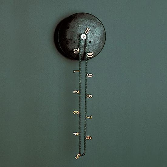Anthologie Quartett - catena wall clock by andreas dober for anthologie quartett