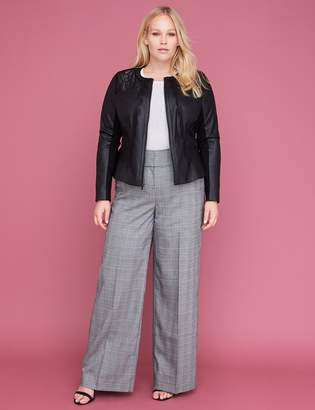 Lane Bryant Allie Tailored Stretch Wide Leg Pant - Plaid