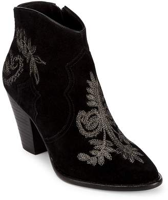 Ash Women's Embroidered Leather Booties