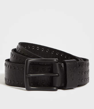 AllSaints Parson Stud Leather Belt