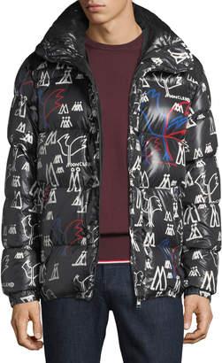 Moncler Men's Marennes Graphic Puffer Jacket