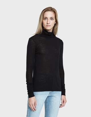 Just Female Violet Roll Neck in Black