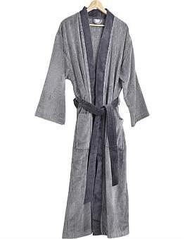 David Jones Liquorice Kimono Robe